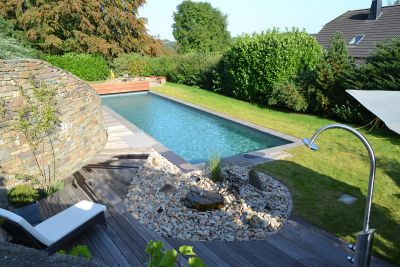Nominee MY GARDEN: Ein Swimming-Teich wird zum Living-Pool