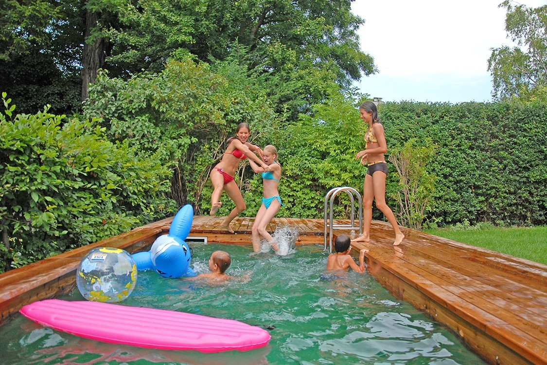 BIOTOP - Bio-Pool für Mini-Garten mitten in Wien