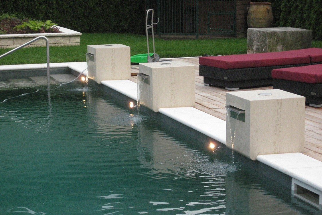 Bio-Pool in Deutschland in stilvollem Design