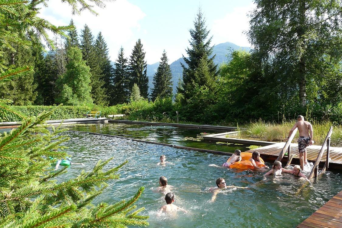 Biotop campingparadies mit schwimmteich f r niederl nder for Swimming pool folie erneuern